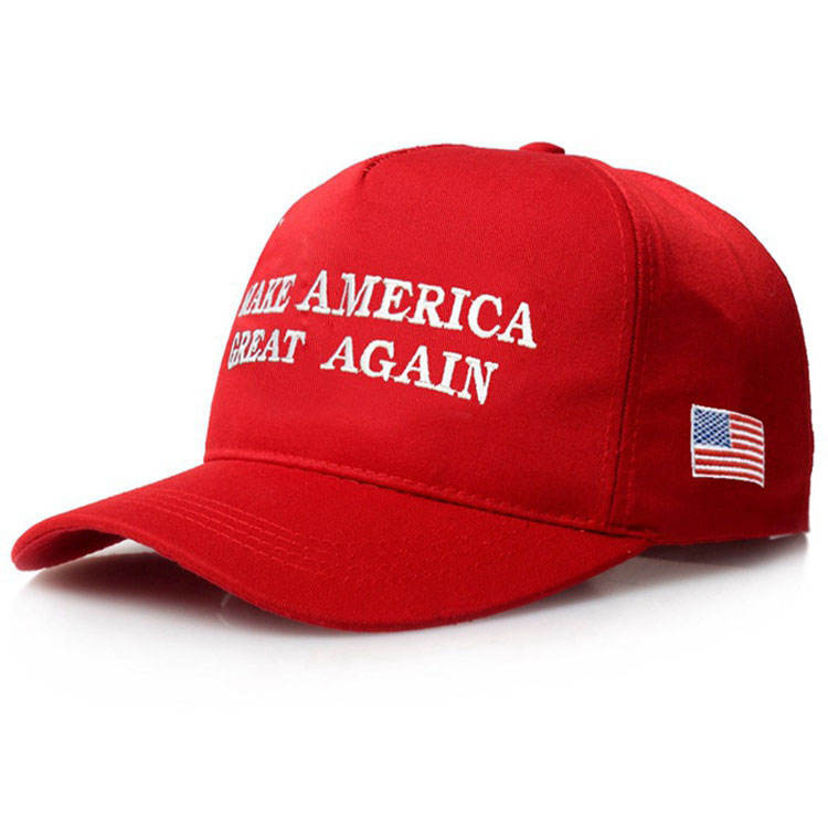 Make America Great Again Hat Donald Casquette Custom Logo Embroidered Baseball Snapback Cap