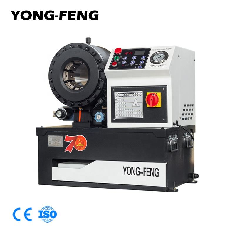 YONG-FENG F32D Hydraulic Hose Swaging Machine