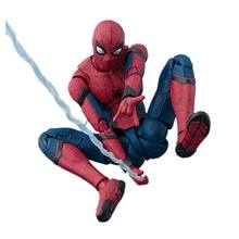High quality Spiderman PVC Action Figure Spider Man Collectible Model Toy 15cm  action figures one piece