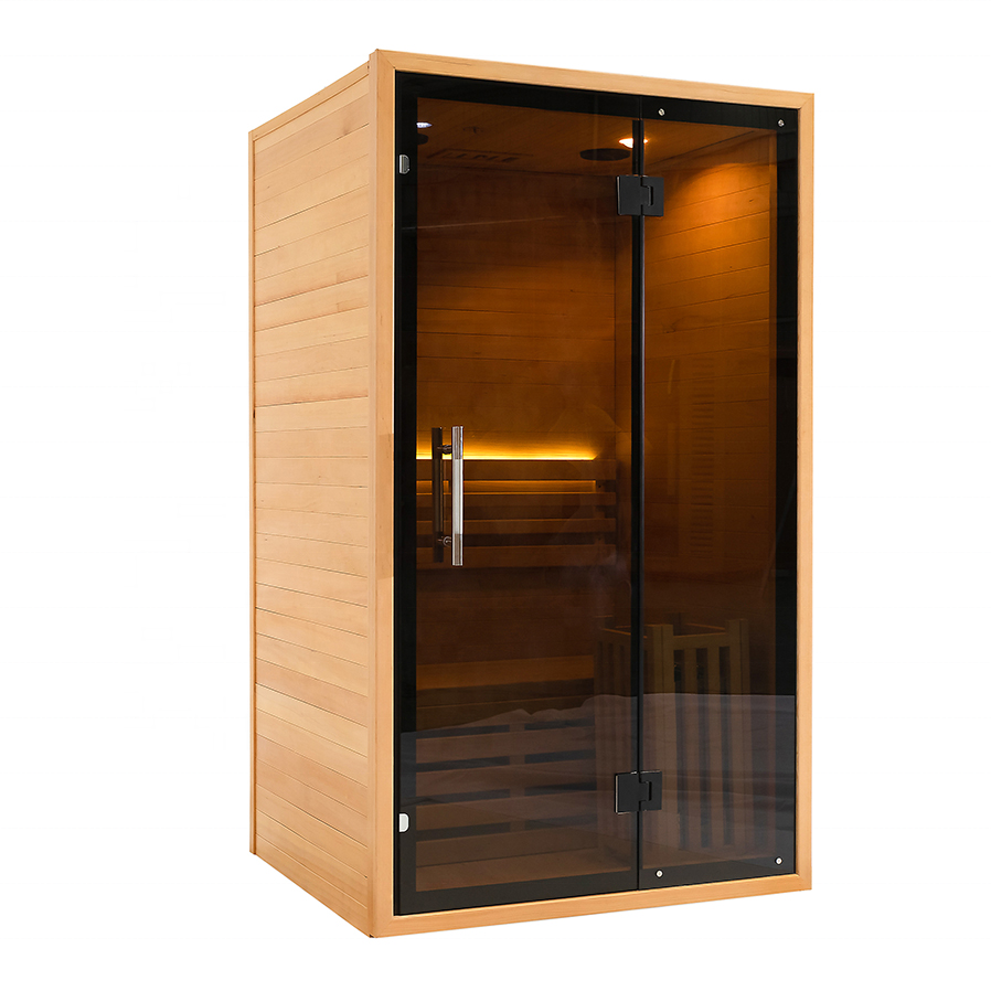 indoor dry infrared/traditional steam saunas