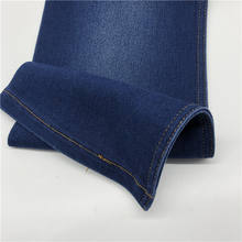 10oz cotton polyester spandex wide width twill stocklot jeans denim fabric