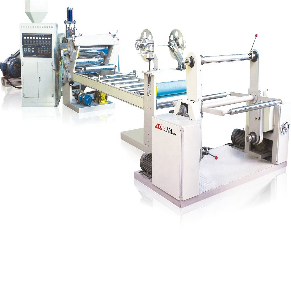 PET/ PP/PS plastic sheet Extrusion film making machine