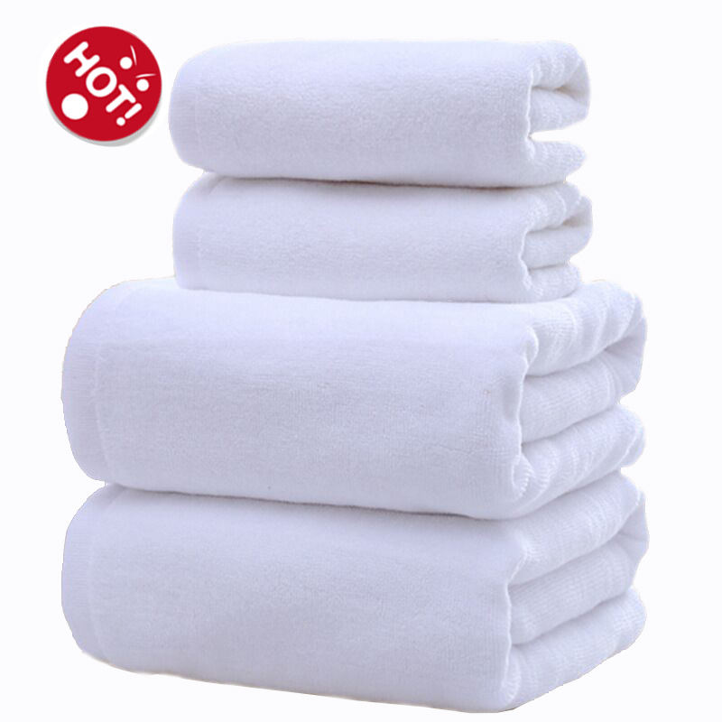 High quality 500g thick wholesale cheap 100 cotton hotel Hand Face bath towels set 5 star