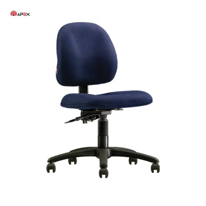 Apex Office Furniture Comfortable Fabric Ergonomic Swivel Typist Chair Malaysia