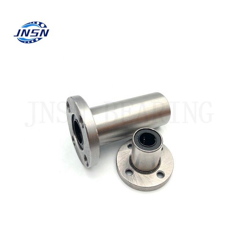 Long Using Life jnsn 20mm diameter Round Flange Linear Bearing LMF20UU LMEF20UU LMF20LUU