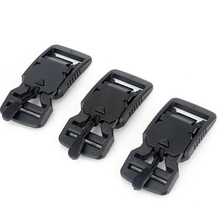 High Quality Men's Casual Nylon Tactical Belt Plastic Magnet Function Buckle Military Belts