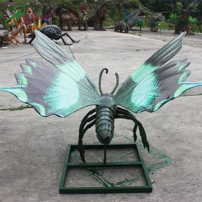 KAWAH Outdoor Animatronic Simulation Life Size Insect Models For Sale