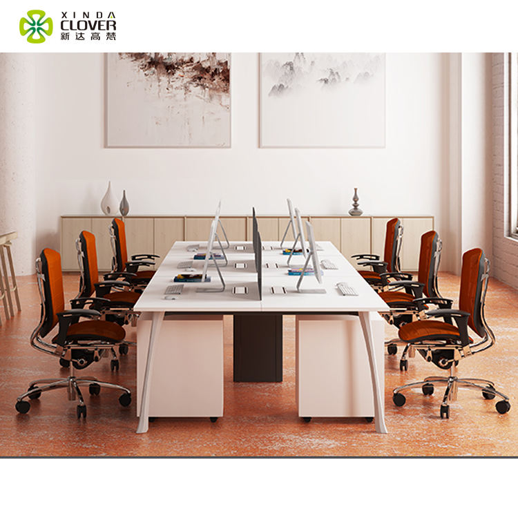 Modern aluminum profile office furniture made in china