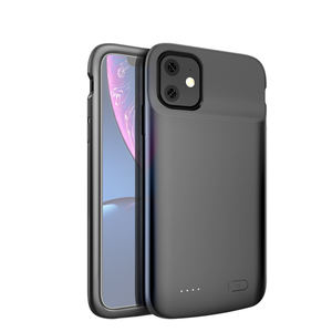 Hot selling 5000mAh back cover phone charger case for iPhone 11 battery case
