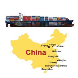 professional shipping agent Tianjin yiwu Customs clearance from China to USA  Canada