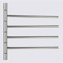 4 bars electric heated towel rail to remove odor and keep cleaning
