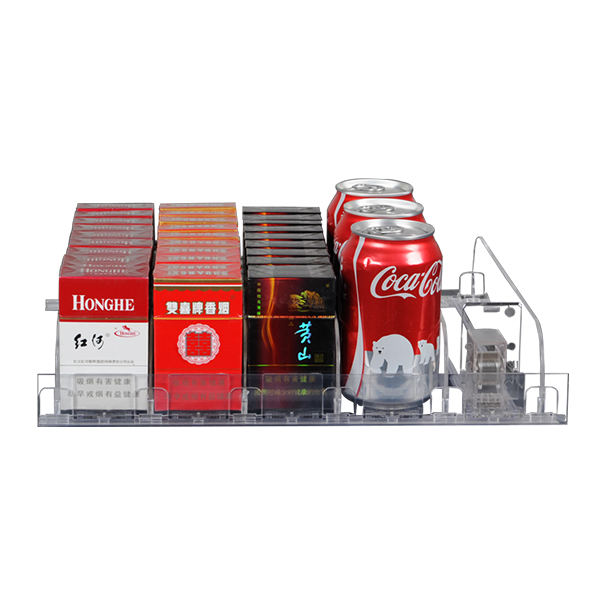 Spring Loaded Plastic Automatic Shelf Pushers Uk For Convenience Store