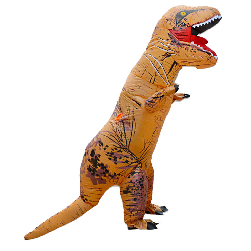 HUAYU Battery Pack Halloween T-Rex Dragon Dinosaur Inflatable Costume for Adults Kids
