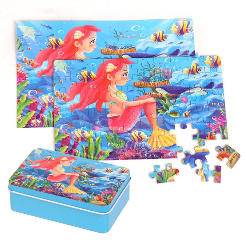 Hot Sell Wooden Puzzle Jigsaw for Children Baby Educational Toy puzzles for kid