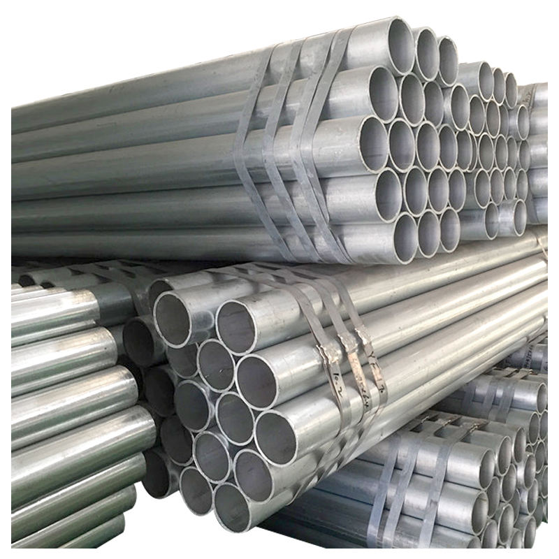 BS1387 4 inch hot dipped galvanized steel pipe / ASTM A53 gr b pre galvanized steel pipe with threaded and coupling