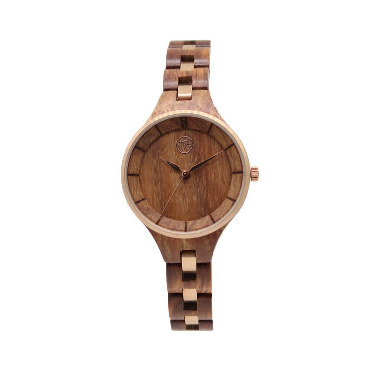 Popular Style High Quality OEM Wooden Wrist Watches