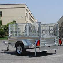 best Galvanized Caged Utility Box  Trailer For Sale
