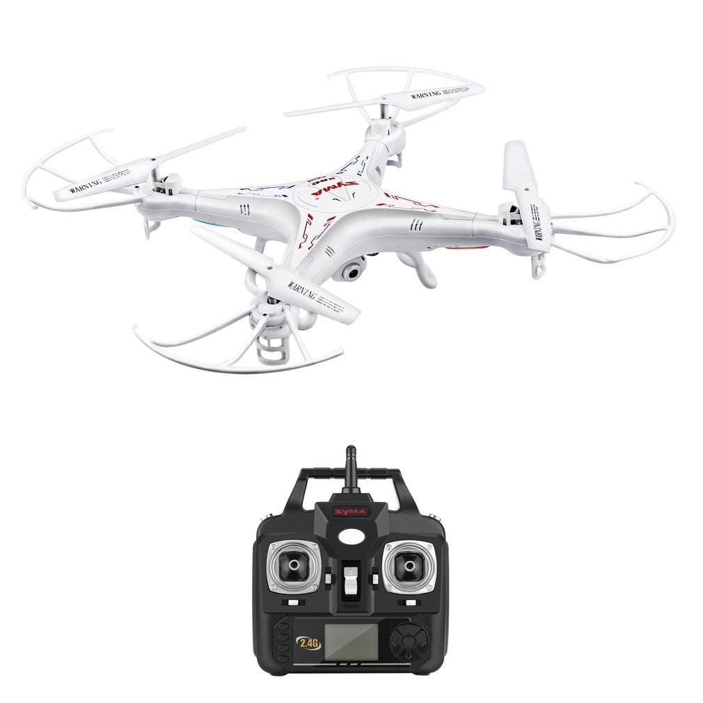 SYMA X5C RC Quadcopter met HD Camera 2MP Continue Rolling Helicopter Quadcopter Indoor en Outdoor 2.4G 6 Axis RC vliegtuigen
