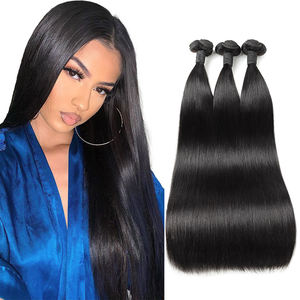 Remy Straight Hair Bundles Raw Indian Unprocessed Human Hair Extensions Milk Raw Virgin Hair
