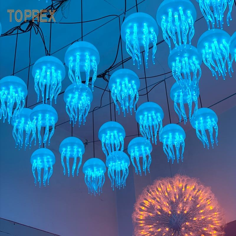 Lighting festival wedding christmas event decorative colourful programmable make good atmosphere lamp jellyfish led light