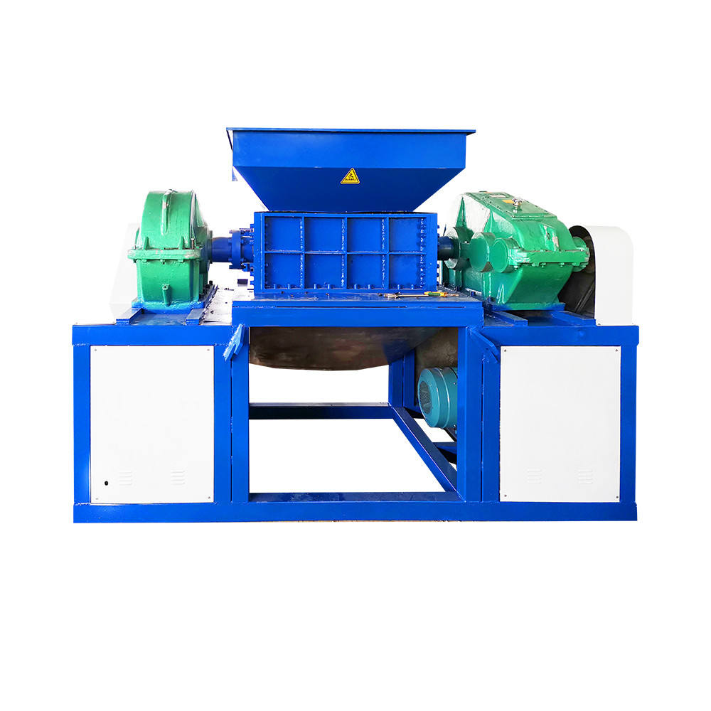 Energy Mining [ Industrial Shredder ] Shredder Machine Rubber Tracks 15-sheet Heavy Duty Paper Pet Industrial Rubber Hdpe Pipe Dtv Plastic Bottle Shredder Shredding Machine