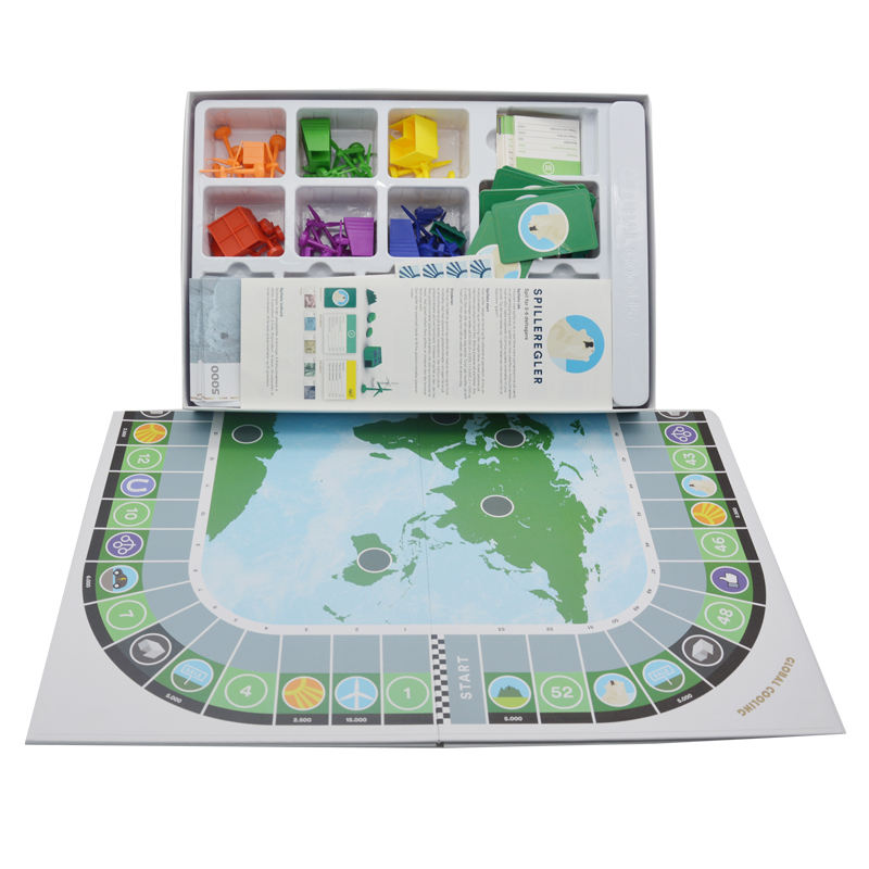 Custom Promotional Children Adult Family English Board Game Set Printing