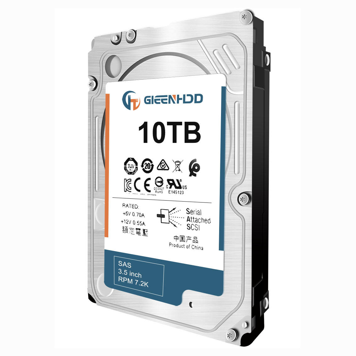Wholesale 10TB Server Hard Drive Internal SAS 7.2K 3.5 Cm 10TB Hard Disk HDD 10TB 857646-B21 878562-B21