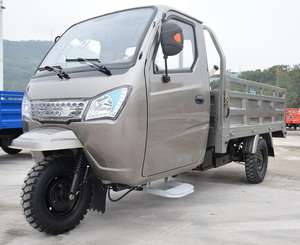 Best tricycle heavy load 3000kg 800CC closed cabin cargo tricycle three wheels cabin cargo tricycle