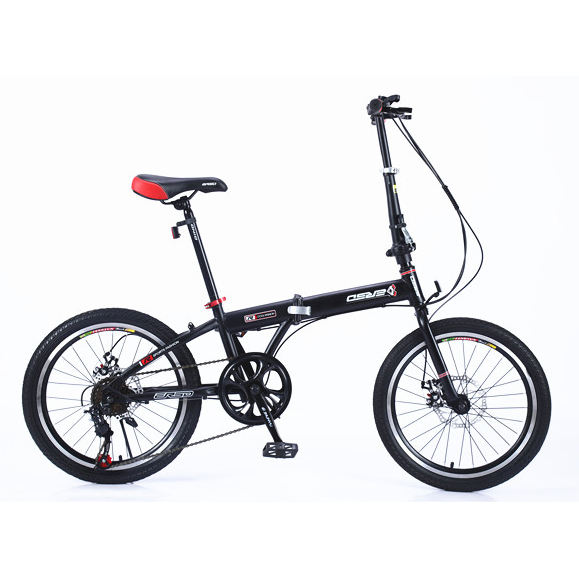 high quality adult small wheel 16 inch 7 speed folding bicycle/OEM bicycle customized foldable bike