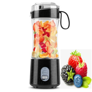 Free sample mini portable usb blender 380ml industrial fruit juicer machine 230w home coffee shaker bottle with CE