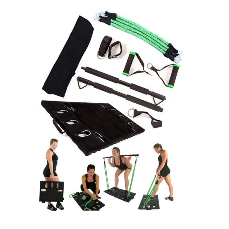 Portable Home Gym Resistance Training Pull Ups Boxing Stretching Folding Compact Multifunctional Exercise Equipment