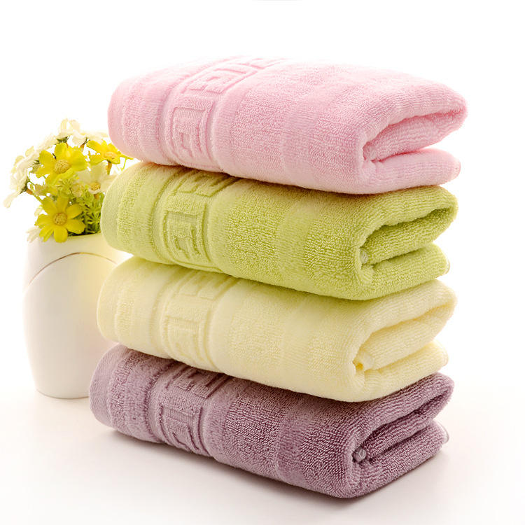 Wholesale designer bath towel 100% cotton bath towel set cheap bath towel price