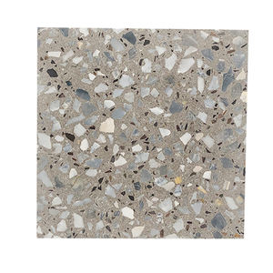 Environment Protection Epoxy Terrazzo Flooring Grey Terrazzo Tile For Bathroom And Kitchen