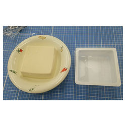 TOFU TRAY (EASY  PEELABLE) wholesale  trays food packing plastic container
