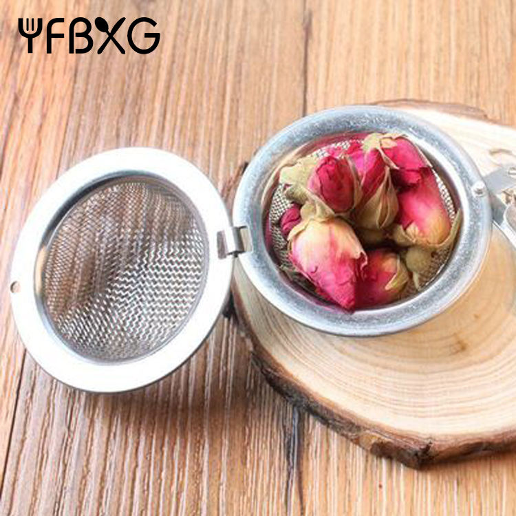 best sell stainless steel wire mesh refillable coffee capsule tea infuser spice ball