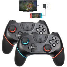 Wireless BT Game Controller for Nintend Switch Pro NS-Switch 6-Axis Handle Pro Game Joystick Controller for Switch PC