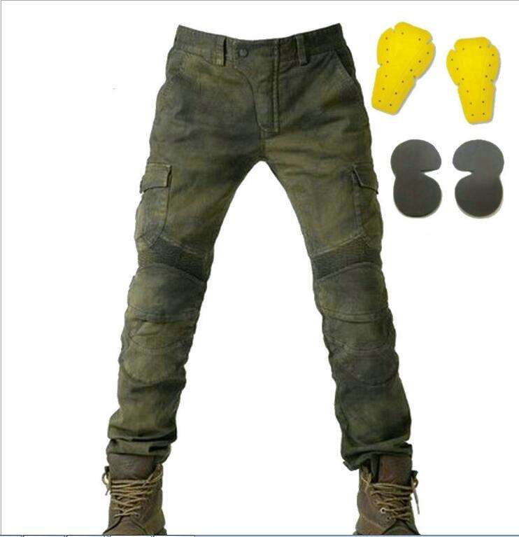 Motorcycle Pants Men Moto Jeans Zipper Protective Gear Motorbike Trousers Motocross Pants Moto Pant