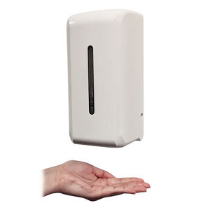 Electric touchless liquid soap dispensers plastic automatic hand free dispenser gel hand sanitizer dispenser