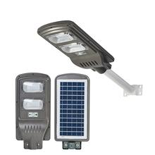 Industry 4.0 Unique Ip65 Outdoor Waterproof ABS Intelligent 100w 200w 300w All In One led solar street light