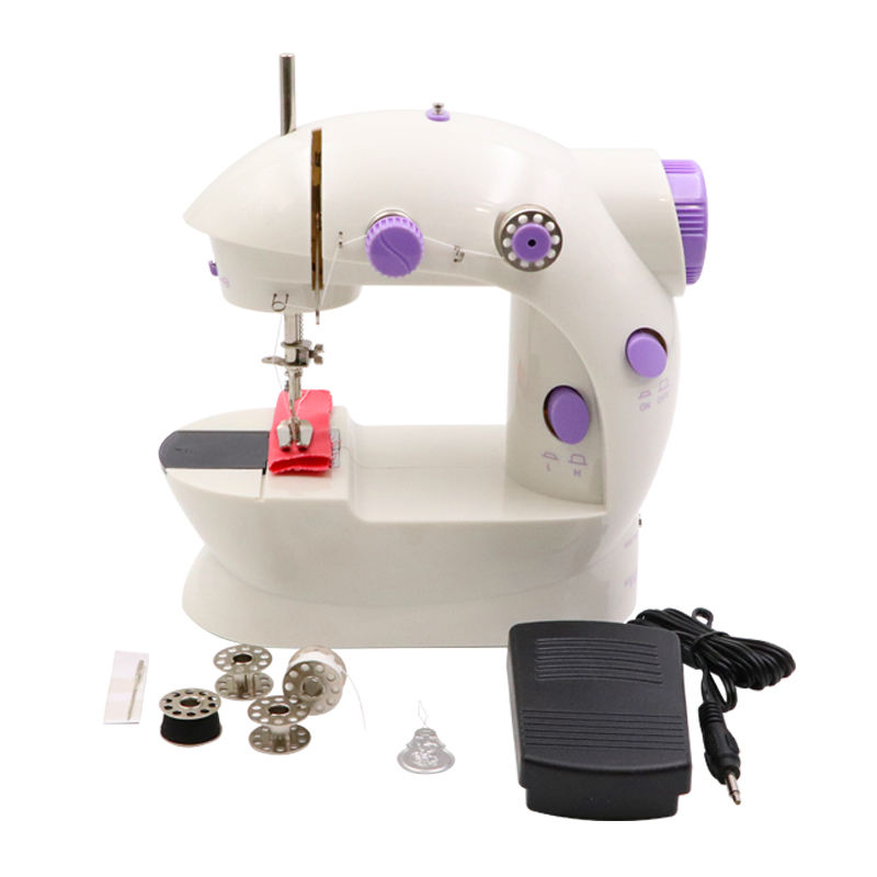 Household Electric Mini Portable Electric Crafting Mending Sewing Machine