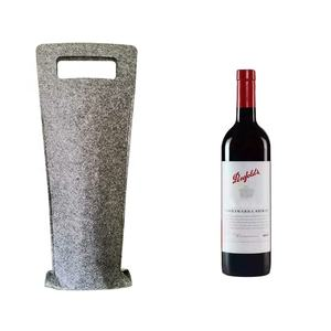 Factory direct wholesale felt red wine bag