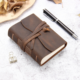 Leather Journal Notebook Vintage Style Handmade Leather Bound Journal