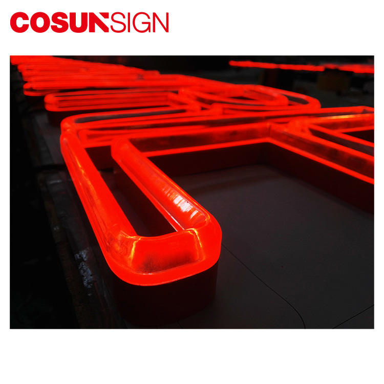 New style decoration 3d neon led Shenzhen Factory