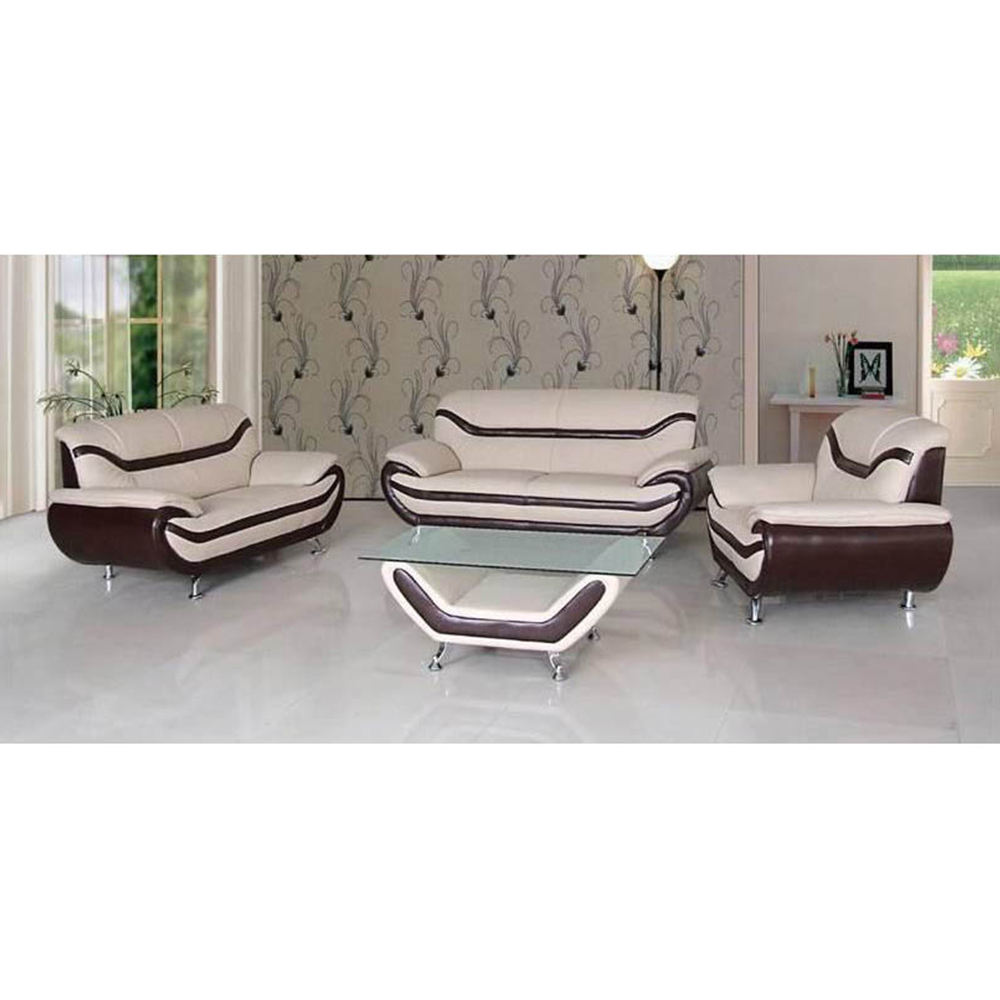 American modern design cheap couch living room sofa+chaise lounge+accent chair