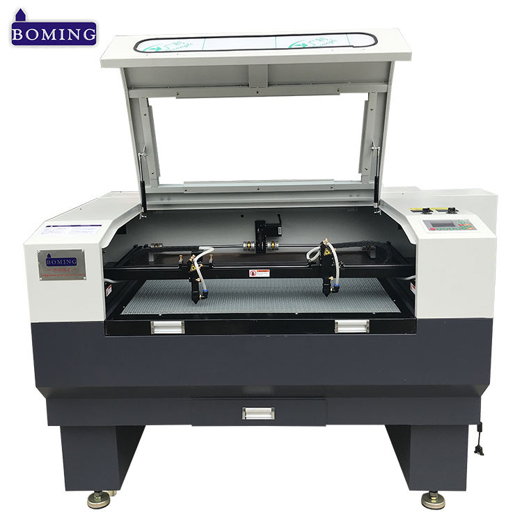 Seoul agent carpet Velvet apparel printed tag mdf laser cut machine with pulse laser co2 tube