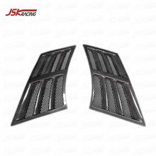 TOP SECRET STYLE CARBON FIBER FRONT FENDER VENT FOR 2008-2019 NISSAN GTR R35
