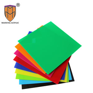 Green 2019 best price Cut edge solid color acrylic /perspex sheet 3mm 48''x96''