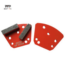 Diamatic Blastrac Lavina HTC Redi Lock Abrasive Tools Diamond Grinding Pad Shoes Block Segment For Terrazzo Concrete Floor