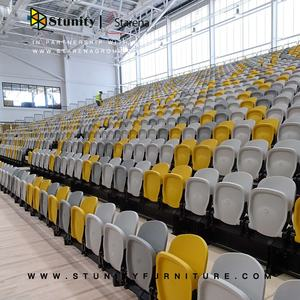 Stunity Retractable grandstand seating retractable bleacher