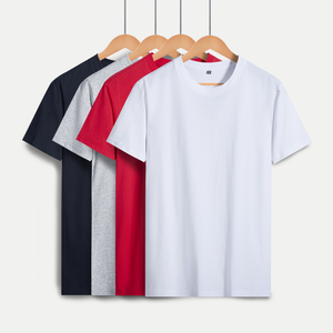 Wholesale 100% Cotton men T-Shirt Stock Logo With Cheap Price